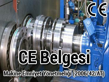 CE Belgesi Makine Emniyet Yönetmeliği