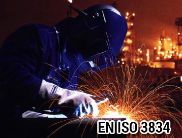 EN ISO 3834 Kaynaklı İmalata Yeterlilik Belgesi